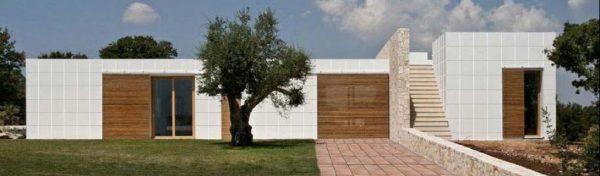 Decoración rústica y minimalismo