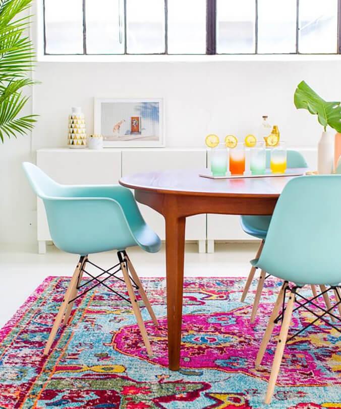 Azulejos de colores en tu hogar
