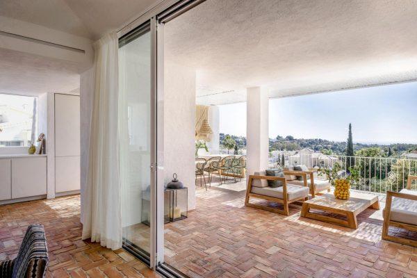 una casa típica de la arquitectura mediterránea